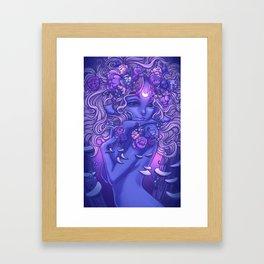 Ghost Fungi Framed Art Print