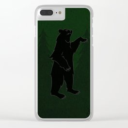 Here We Stand Clear iPhone Case