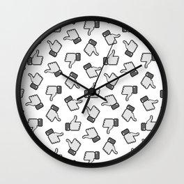 Like Me Pattern Wall Clock