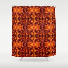 24. Fire of Katniss Everdeen Shower Curtain