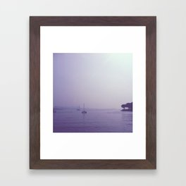 At Sea Framed Art Print