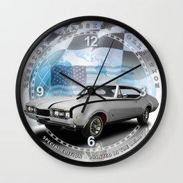 "1968 Oldsmobile Cutlass Hurst Decorative 10"" Wall Clock (027ac)  Wall Clock"
