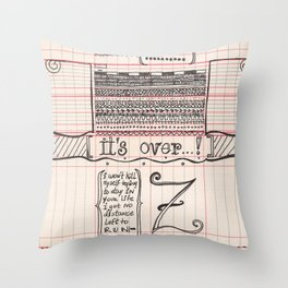 No distance left Throw Pillow