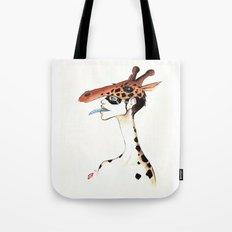 The Masquerade:  The Giraffe Tote Bag