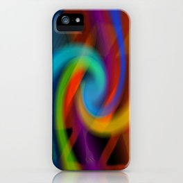 Color magic iPhone Case
