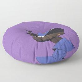 On My Mind Floor Pillow