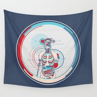 anatomy Wall Tapestries featuring Anatomy by infloence
