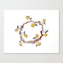 Honey Ant Roundabout Canvas Print