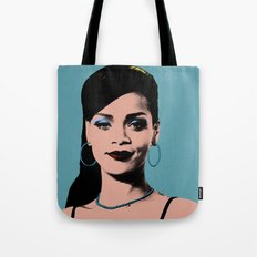 Rihanna Pop Art Tote Bag