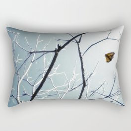 First Sign of Spring Rectangular Pillow