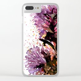 Flowering Clear iPhone Case