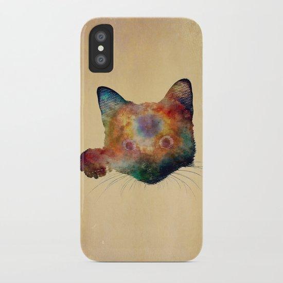 Nebula Cat iPhone Case