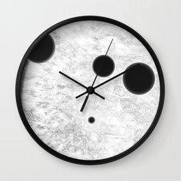 MACROCOSMOS 01 Wall Clock