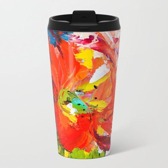 Lilly Metal Travel Mug