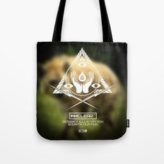 Inkclear ID Square Tote Bag