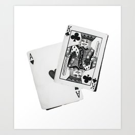 Aces and Kings Art Print