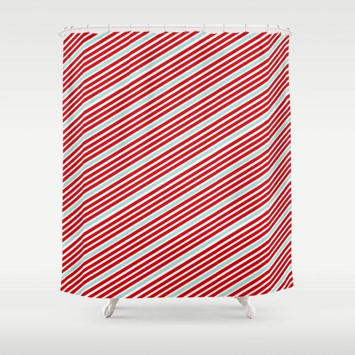 Carnival Stripes Shower Curtain