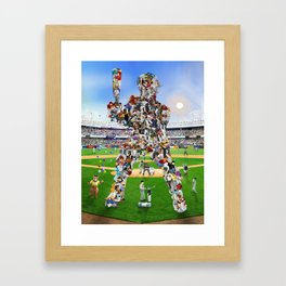 A Whole New Old Ball Game Framed Art Print