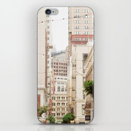 San Francisco Daydreaming in Union Square iPhone Skin