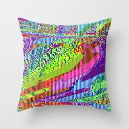 Hall of important sentai reptiles Throw Pillow