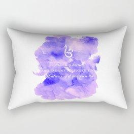 Take my Strength Rectangular Pillow