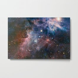 Carina Nebula Star Photography Metal Print