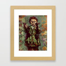 What Me Worry ? Framed Art Print