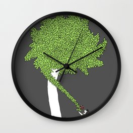 The Taking Tree Wall Clock