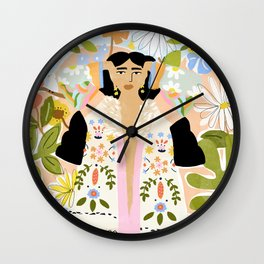 I Want To See The Beauty In The World Wall Clock