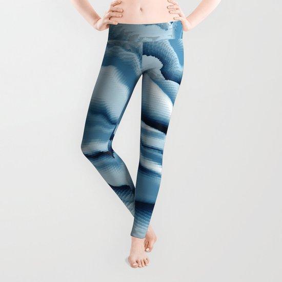 Abstract 143 Leggings