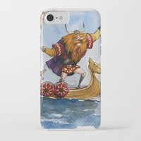 viking iPhone & iPod Cases featuring Viking by Jose Luis Ocana