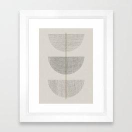 Geometric Composition III Framed Art Print