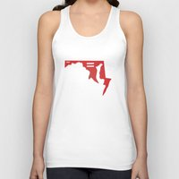 maryland Tank Tops featuring Maryland Love by Tank Top Sunday