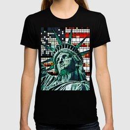 Patriotic Statue of Liberty T-shirt