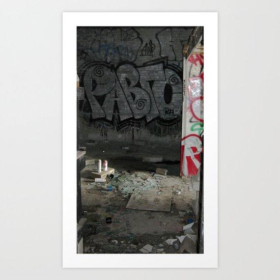 Demolished Providence Art Print
