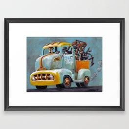 Mudhook Salvage Truck Framed Art Print