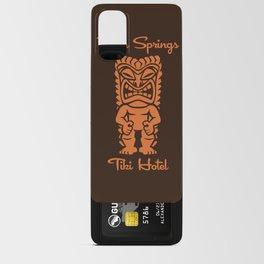 Tiki Hotel Logo Android Card Case