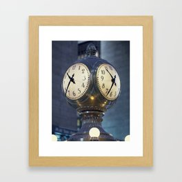 Just in the Nick of Time Framed Art Print