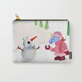 Snow Unicorn V02 Carry-All Pouch