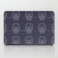 skulls iPad Cases featuring Skulls by Hipster