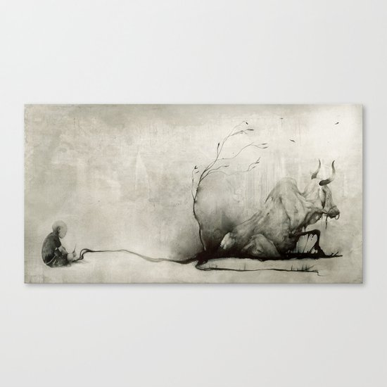 Magic Paintbrush Canvas Print