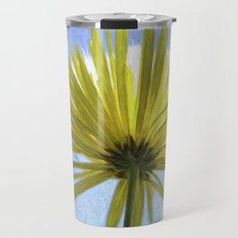 Sunburst Painted Travel Mug