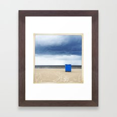 some trash Framed Art Print