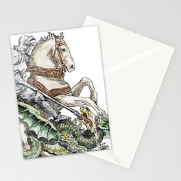 Here be Dragons Stationery Cards