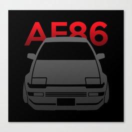 Toyota AE86 Hachi Roku Canvas Print