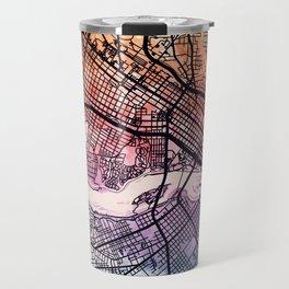 Richmond Virgina City Map Travel Mug