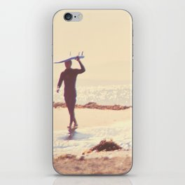 Surfer photograph. A Visceral Need iPhone Skin