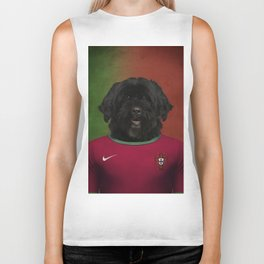 Worldcup 2014 : Portugal - Portuguese Water Dog Biker Tank