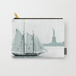 Statue of Liberty with Schooner Carry-All Pouch