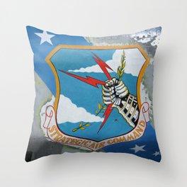 Strategic Air Command - SAC Throw Pillow
